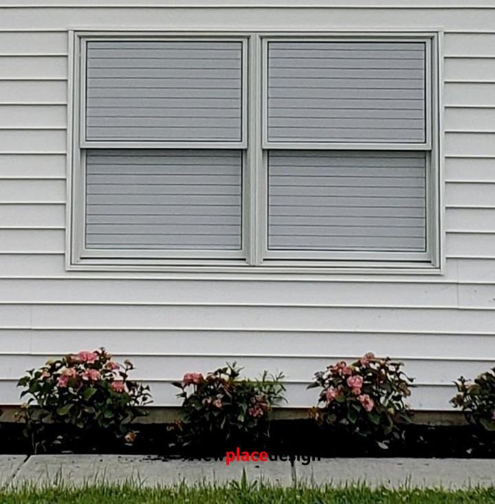 1-way Vision Horizontal Blinds (Applies to Exterior) - 100CM (40 INCH) / 50 CM (20 INCH)
