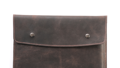 Leather MacBook Case | Portfolio - Tobacco / MacBook Pro 13 2013-2015