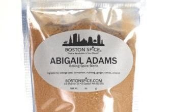 Abigail Adams - Baking Spice - Approx 1 cup in a stand-up pouch