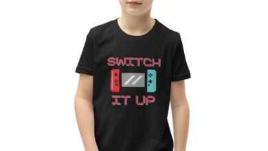 Switch It Up Youth Short Sleeve T-Shirt - Black / S