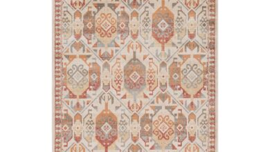 Zuleyka Aztec Southwestern Indoor Area Rug by Superior - Rust / 8 ft. x 10 ft.
