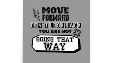 Move Forward, Don't Look Back, You Are Not Going That Way - Poster - 12×12