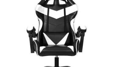 Leather Office Gaming Chair Home Internet Cafe Racing Chair WCG Gaming Ergonomic Computer Chair Swivel Lifting Lying Gamer Chair - United States / 045 nofootrest