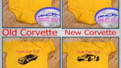 Your Own Text American Sports Cars (Choose your Car) Infant Short & Long Sleeve Bodysuit - 12 Months / Yellow