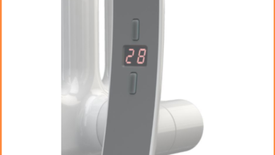 Heatpol Thermostatic WiFi Heating Element - Horizontal - H+H - Designed for Column Radiators - H+H 1500W / Anthracite