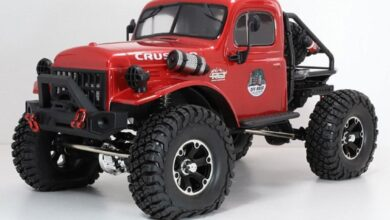 RC All-terrain Climbing Off-road Car1.10 RTR 2.4G 4WD RGT EX86181 - Red