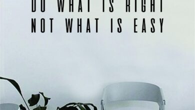 Do What is Right Not What is Easy Quote Wall Decal Art Vinyl Sticker Home Decor Decoration Living Room Bedroom Inspirational Motivational Teen - teal