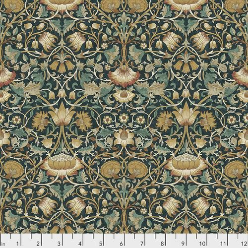 Fabric Lodden - Autumn, from Standen Collection, Original Morris & Co for Free Spirit, PWWM023.AUTUMN - 1 yard cut