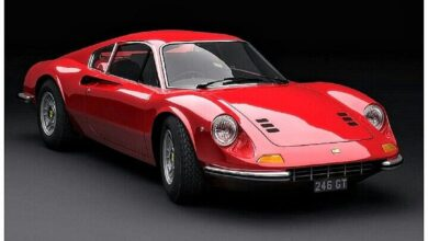 1972 Ferrari Dino 246 - The Ferrari Dino 206 / 246 was the first Ferrari model p...