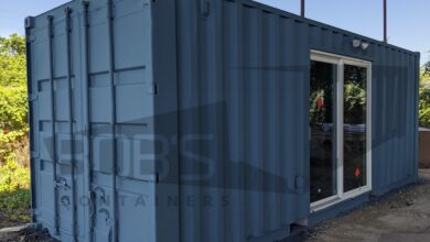 20 ft Container Home - The Cleveland Model - New / High Cube / Panel