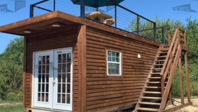 20 ft Container Home - The Dripping Springs Model - 20' Container Cabin
