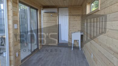 "20 ft Container Home - ""The Helotes"" Model"