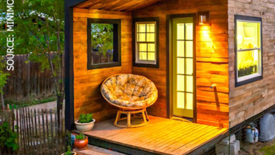 232-sqft Tiny House For a Family of 4 Built for Only $11,000!