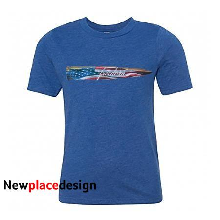 .308 to Freedom T-Shirt - Large / Blue
