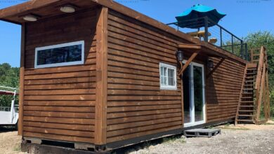 40 ft Container Home - The Dogwood Model - test / test / test