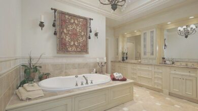 46 Luxury Traditional Bathroom Design Ideas for Your Classy Room