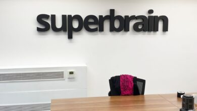 58mm 3D Logo Wall Sign Office Graphic - 80cm Longest Edge (56mm Deep) / None / 3 or more
