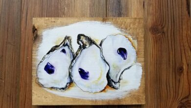 5x7 Oysters Artwork