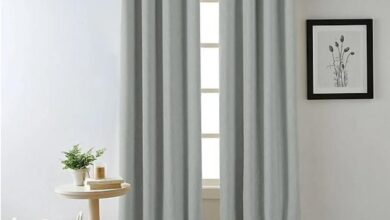 """84"""" Bee & Willow Home Hadley Grommet 100% Blackout Window Curtain Panel, In Spa"""