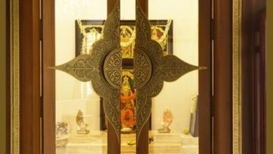 9 Iconic Pooja Room Doors designs For Your Home.