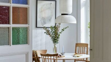 A Beautiful, Space-Saving Family Home in Stockholm, Sweden
