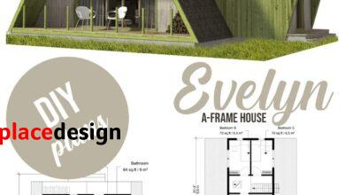 A-Frame House Plans Evelyn - Pin-Up Houses