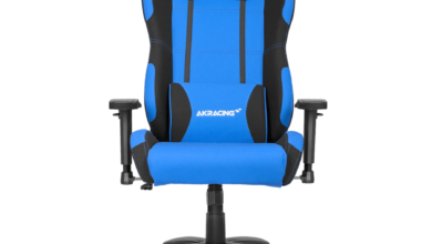 AKRacing Core Series EX Gaming Chair - Blue