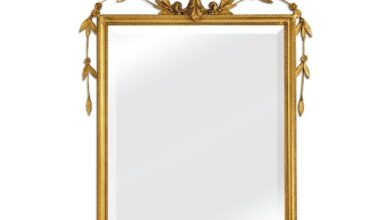 Accent Mirror by Friedman Brothers - S