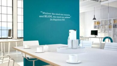 Achieve motivational quote wall sticker - Small 67 x 14cm