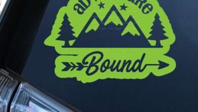 Adventure Bound Rounded Decal - 10 - Copper / Matte