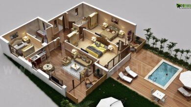 Amazing Small House Floor Plans 3d