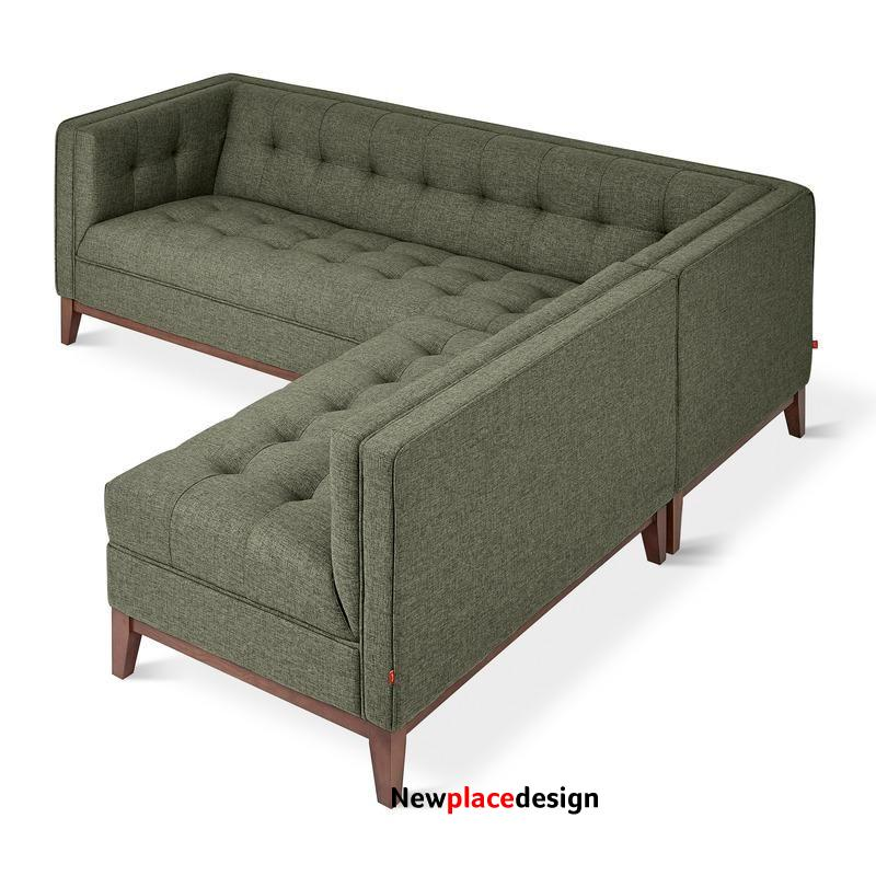 Atwood Bi-Sectional - Parliament Moss