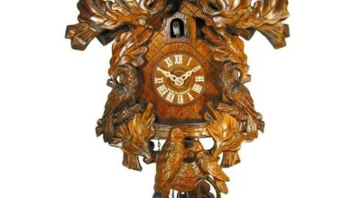 August Schwer Cuckoo Clock - 1.5046.01.P - Made in Germany