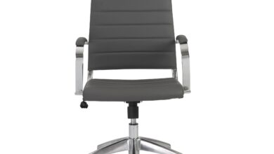 Axel High Back Office Chair - Gray