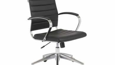 Axel Low Back Office Chair - Black