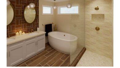 Bathroom Warm Neutral #3