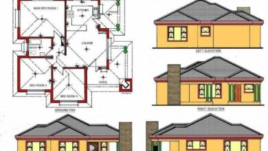 Best of Bungalow House Plans With Elevation (+10) Essence