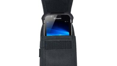 Bluebird HF550 Case with Durable Belt-Clip and Loop