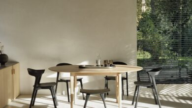 Bok Round Extendable Dining Table
