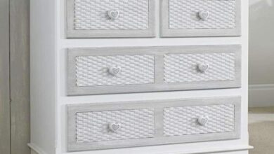 Brittany Bedroom Furniture Collection - 2 + 2 Drawer chest