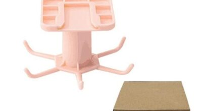 Cabinet Hook - Pink with Box