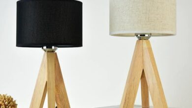 Cashmere Table Lamp - Beige