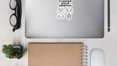 Choose Your Weapon sticker - 4x4