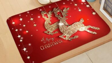 Christmas Doormat Carpet - a-2