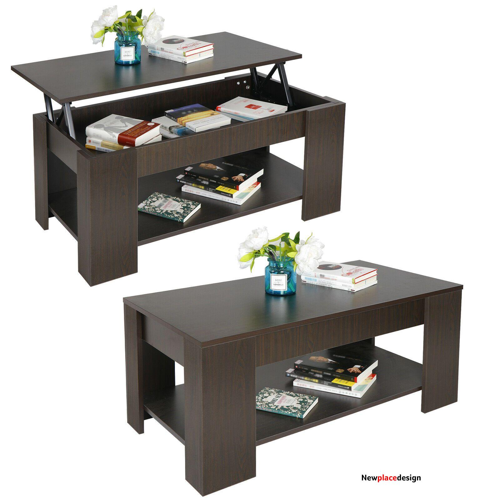 Coffee Table with Storage Lift Top