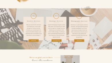 Coupled With Grace Website Design | Website Layout | Showit Website Mockup