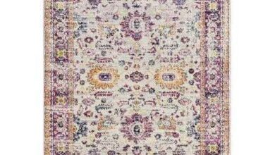 "Cream Olefin / Frieze Rug 118"" x 158"""