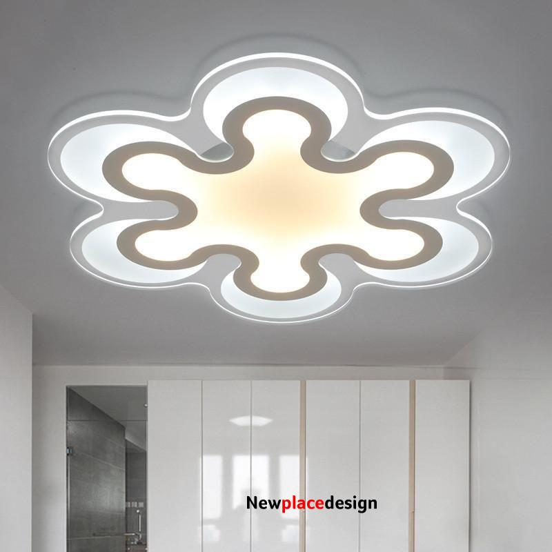 Creative & Unique LED super thin ceiling Light - Brightness Dimmable / 3 lights 30W