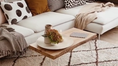 Cute and simple small living room decor
