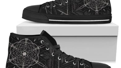 Dimensions Men's High Tops - Mens High Top - Black - Dimensions / US11 (EU45)